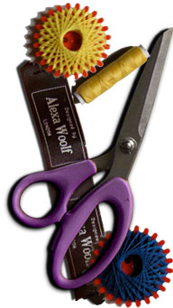 scissors & labels
